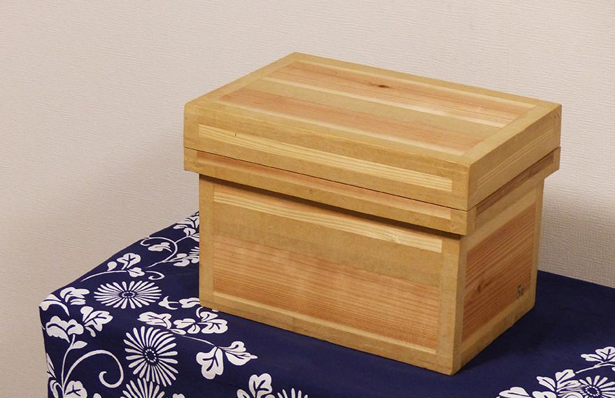 手作り茶箱のイメージ